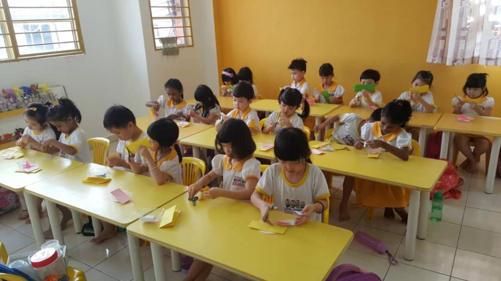 Preschool classes Preschool programme